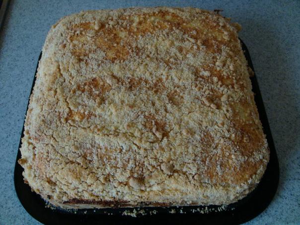 насыпной пирог с вареньем рецепт с фото