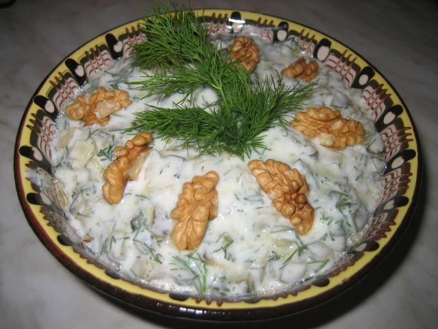 Рецепты салатов с фото 2011 болгарская кухня