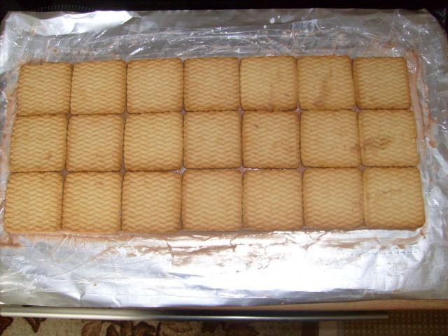 Как из печеньев торт сделать