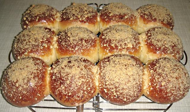 это фото рецепт булочек со сладкой посыпкой тоже, почему