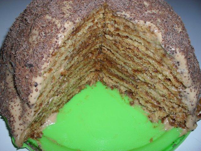 Торт опавшие листья рецепт с фото пошагово