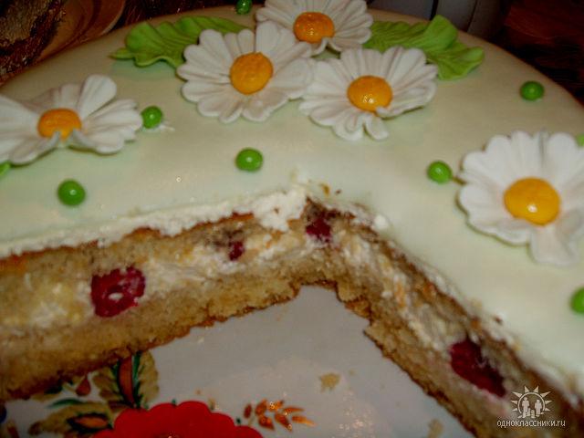 Бисквит под мастику рецепт с фото пошагово