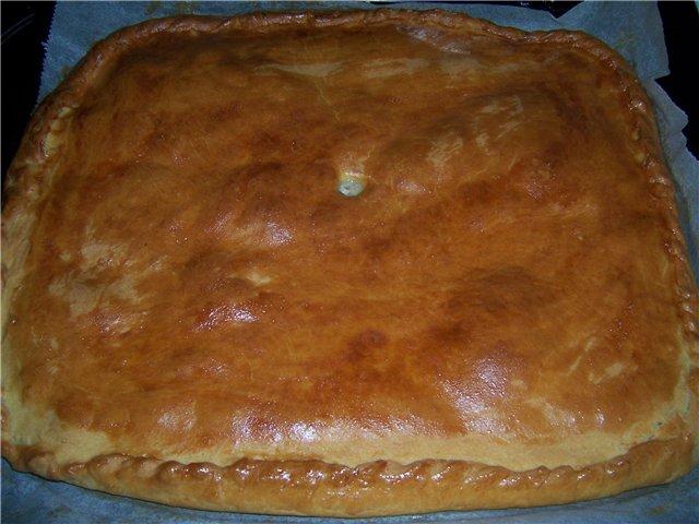 Как приготовить пирог с картошкой и фаршем в духовке рецепт