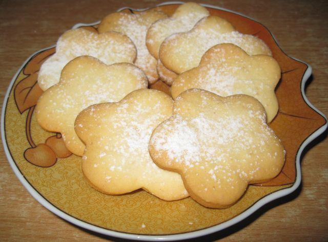 Печенье из бисквитного теста рецепты с фото
