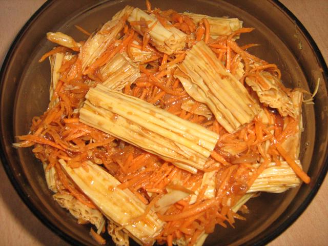 спаржа по корейски рецепт в салате