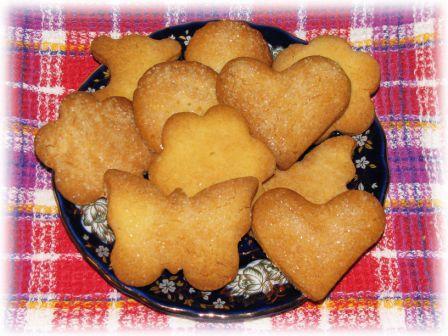 Песочное печенье рецепты с фото на масле
