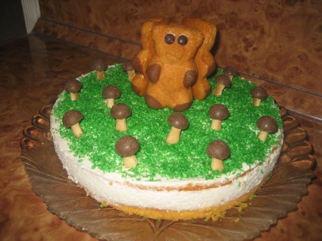 Украшаем торт детский в домашних условиях фото