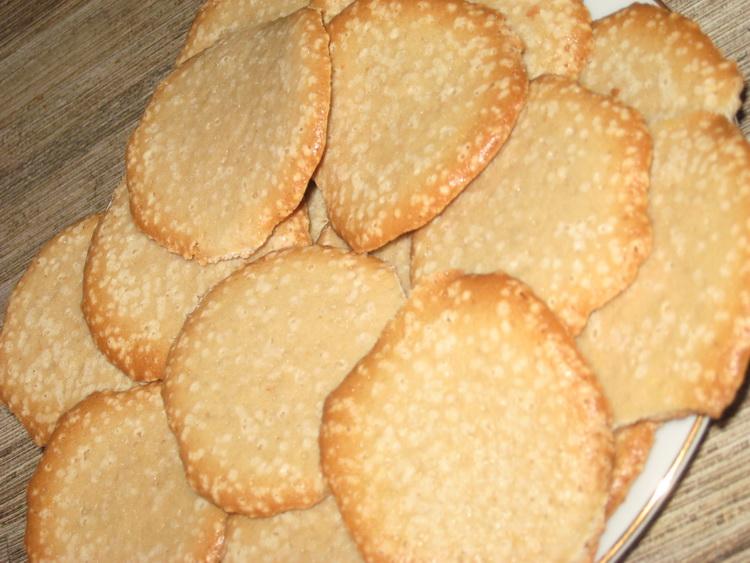 тонкое печенье рецепт с фото