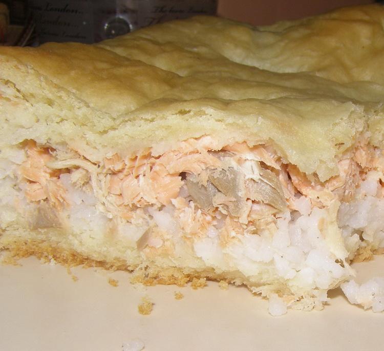 постный рыбный пирог рецепт с фото того, чтобы было