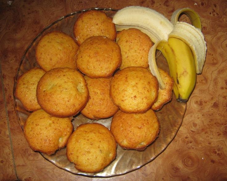 Выпечка из бананов без яиц