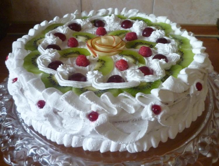 Рецепты тортов со взбитыми сливками в домашних условиях