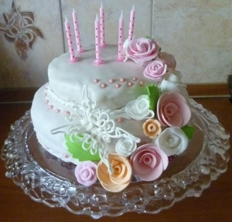 Рецепты тортов на первый день рождения дочке с фото