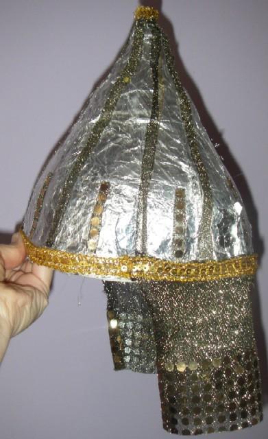 Как своими руками сделать шлем богатыря своими руками