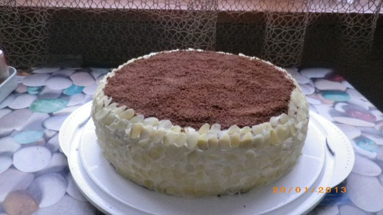 Торт тропик отделка фото