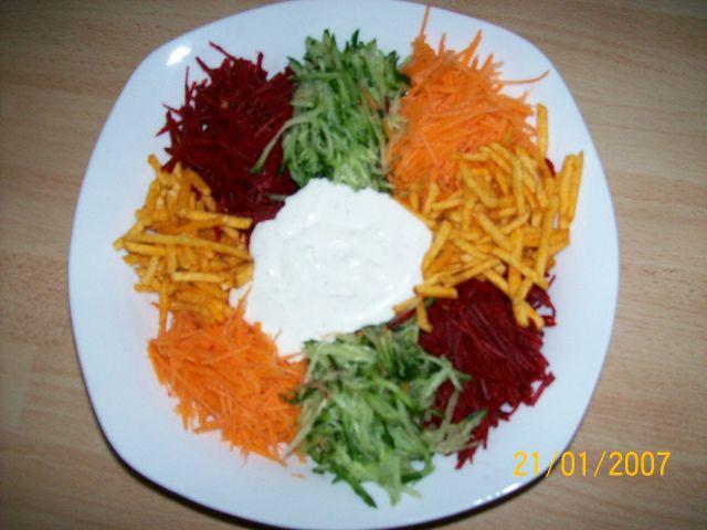 Салат ромашка с чипсами рецепт