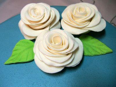 Эластичная сахарная мастика для украшения тортов.