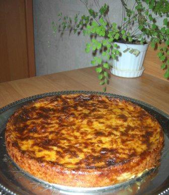 Пирог - кабачки