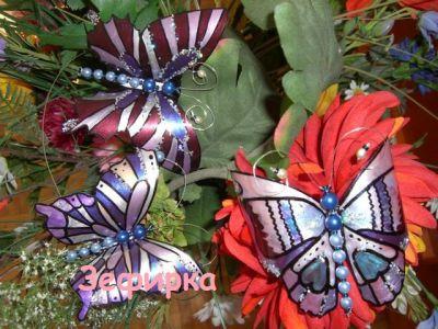 Бабочки своими руками на даче фото